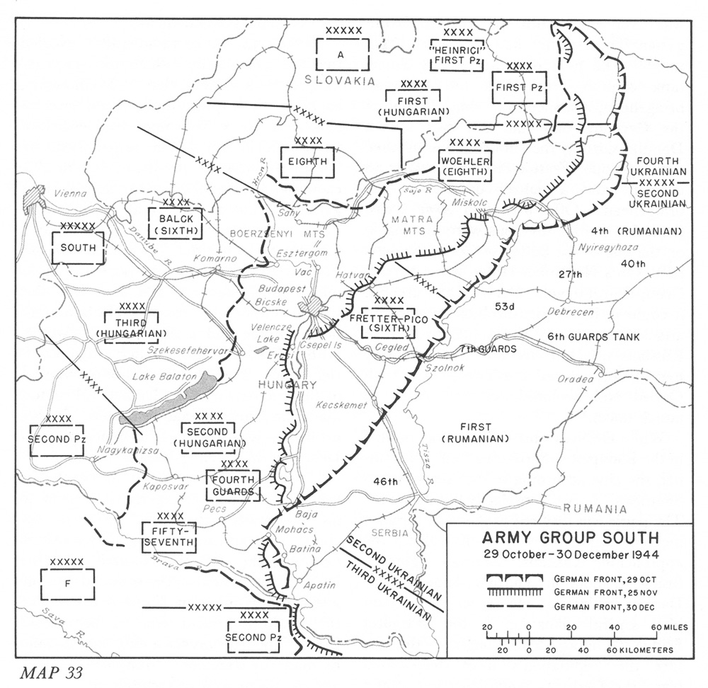 south Army group