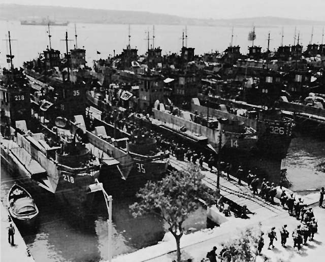 invasion of italy in wwii:
