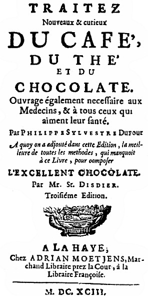 The project gutenberg ebook of all about coffee by william h ukers title page of dufours book edition of 1693 fandeluxe Image collections