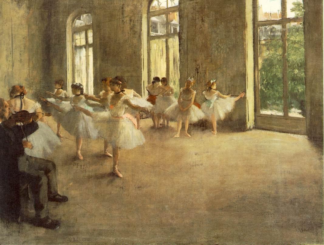 WebMuseum: Degas, Edgar: Ballet dancers
