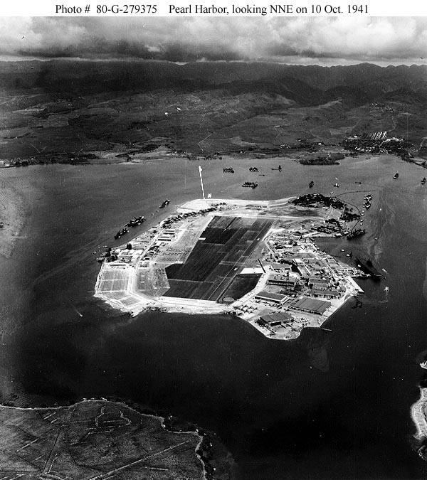North Point Ford >> Pearl Harbor in 1940-1941