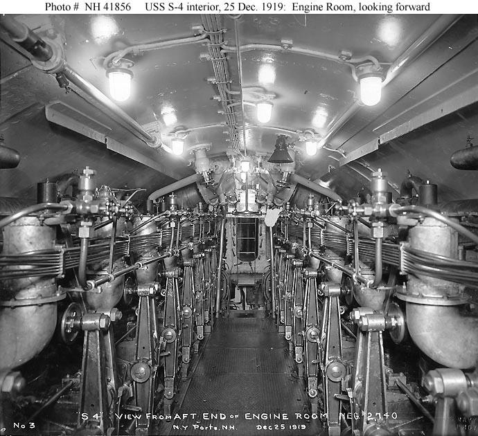Usn Ships Uss S 4 Submarine 109 Later Ss 109