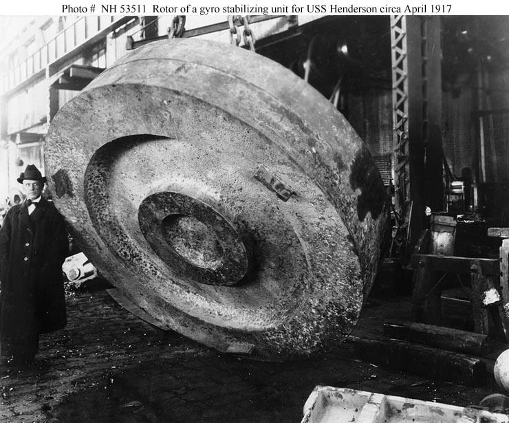 USN Ships--USS Henderson (Transport # 1) -- Construction.