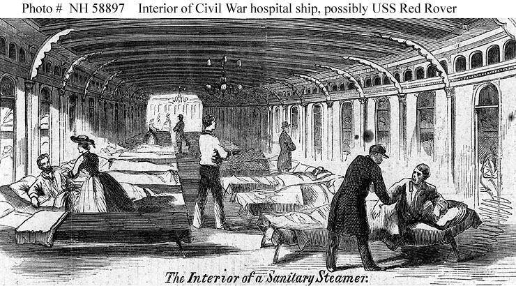 Nurses And The U S Navy Prior To 1908