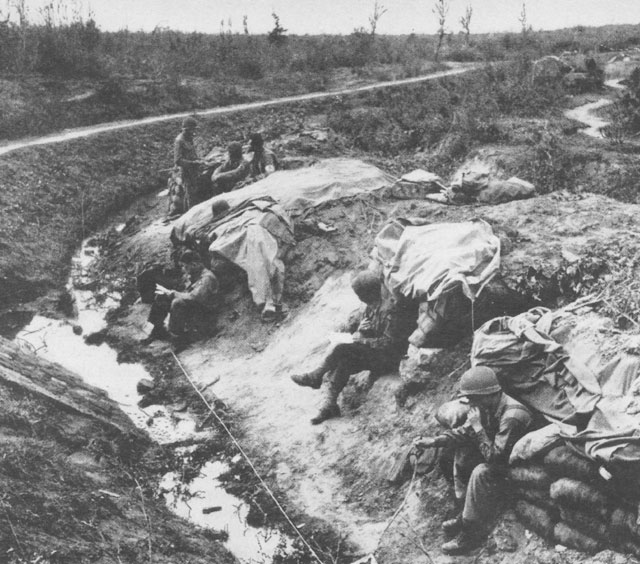 HyperWar American Forces In Action Anzio Beachhead The