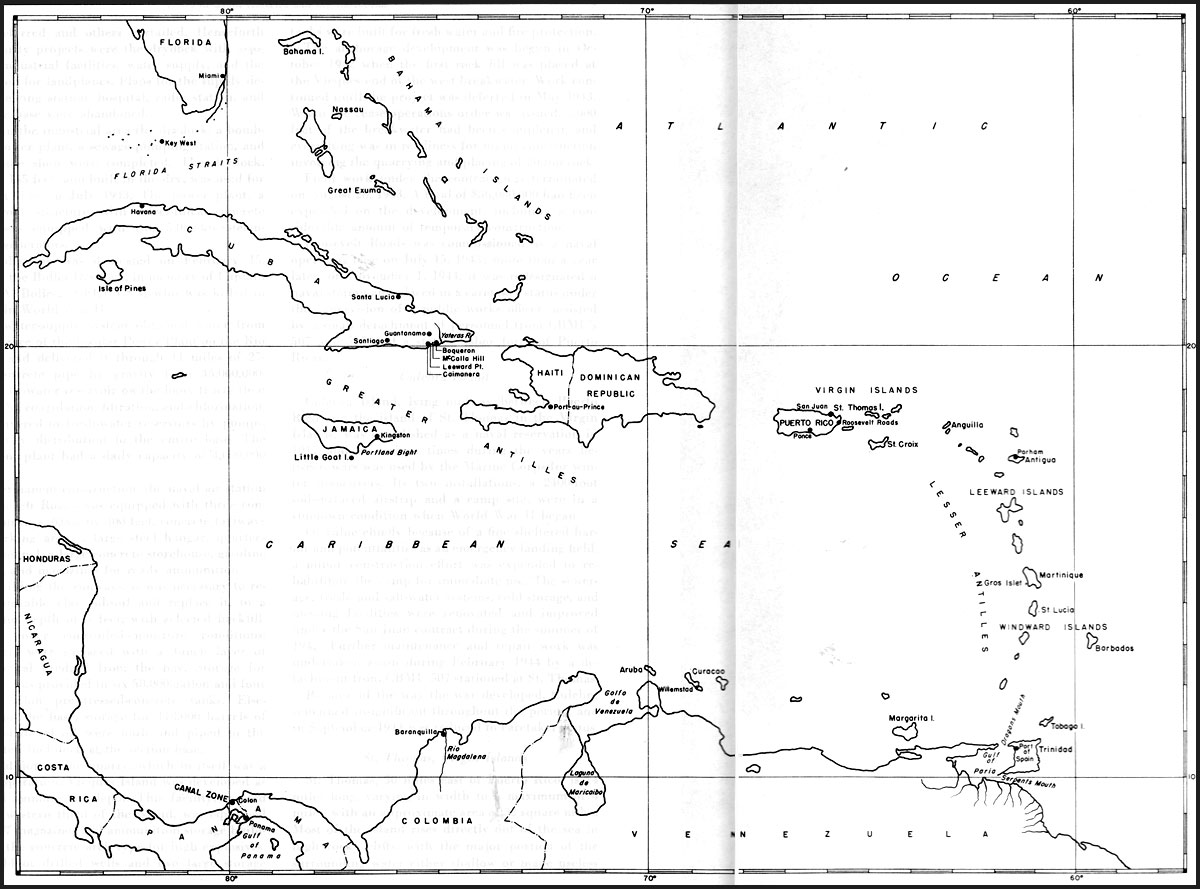 Image Result For World Map Caribbean