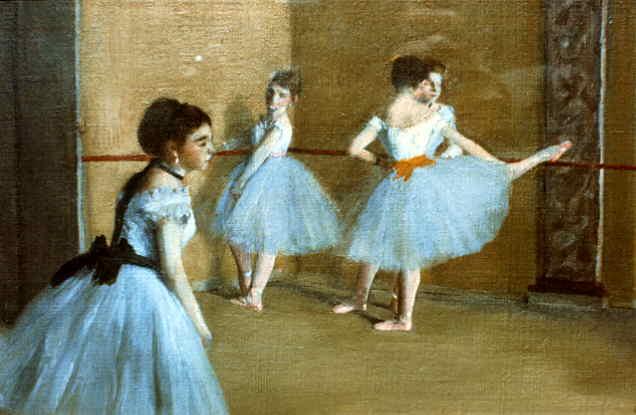 webmuseum degas edgar ballet dancers