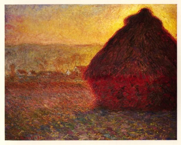 Webmuseum Monet Claude Haystacks