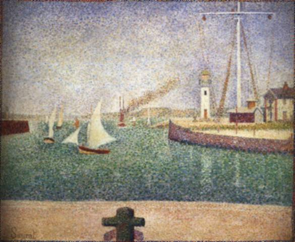 a biography of georges seurat a painter In his best-known and largest painting, georges seurat depicted people  found his figures to be less a nod to earlier art history than a commentary on the.